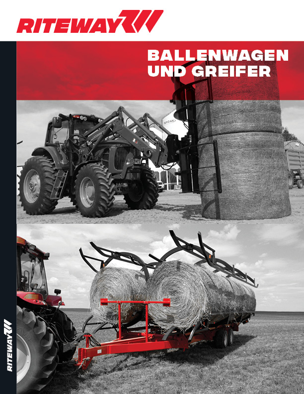 RiteWay Bale Cart and Grapple Brohure GERMAN pg1